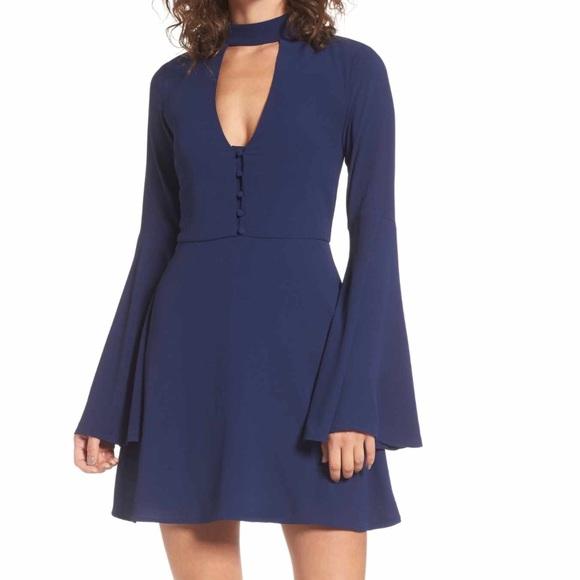 Socialite Dresses & Skirts - [Socialite] Harper Bell Sleeve Dress